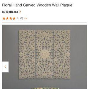 Floor Wooden Wall Plaque